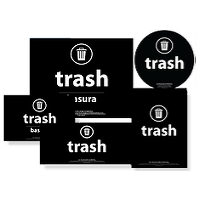 Trash Labels