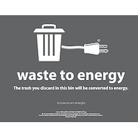 Waste To Energy Labels